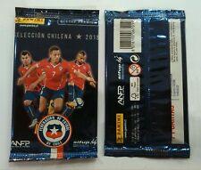 Chile 2015 Panini Soccer Trading Card Premium Selección Chilena team pack