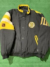 Vintage Boston Bruins Starter Authentic Center Ice Collection Winter Jacket L