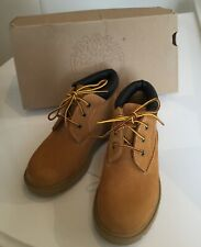 TIMBERLAND Waterproof Youth Boot. Yellow. UK 1.5, EUR 34. NEW WITH BOX