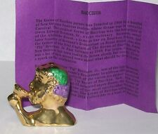 2018 Haydels Haydel King Cake Baby Doll Artist Proof Krewe of Bacchus 50th Anniv