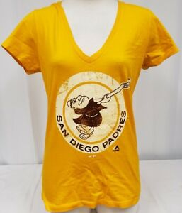 BRAND NEW Women's Majestic MLB San Diego Padres Short Sleeve Shirt