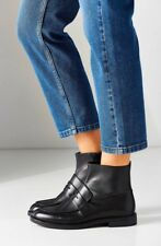 Vagabond Amina Black Leather Ankle Boots Size 8.5US/39US