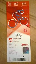LONDON 2012 TICKET CYCLING TRACK HOY KENNY HINDES GOLD 02 AUG 1600 £325 *MINT*