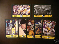 Green Bay Packers Super Bowl II Collector's Cards - One card