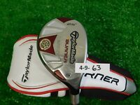 TaylorMade Burner Rescue 25* 5 Hybrid REAX 65 M Senior Graphite w SuperFast HC