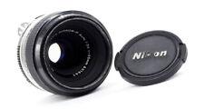 NIKON MICRO-NIKKOR 55mm f3.5 - 1971-como Nuevo! ** ** muy Raro NIKON AI conversión