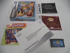 Suite Life of Zack & Cody Tipton Caper (Nintendo Game Boy Advance 2006) COMPLETE
