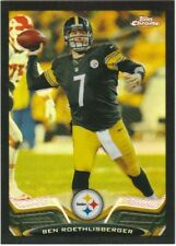 2013 Topps Chrome Black Refractors #52 Ben Roethlisberger Serially #ed 245/299