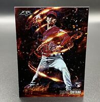 Shohei Ohtani RC 2018 Topps Fire Flame Throwers FT-13 Los Angeles Angels MLB