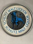 schlitz malt liquor tin metal sign
