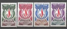 France 1969 timbres de service Yvert  n° 39 à 42 neuf ** 1er choix