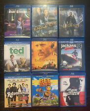 Blu Ray LOT 9 Movies! Jamie Fox, Bruce Willis, Jerry Seinfeld, Martin Lawrence