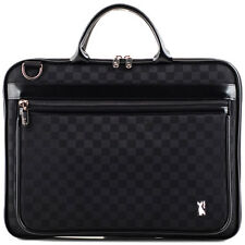 "Sphynx 17"" 17.3"" Laptop Case Sleeve Memory Foam Shoulder Bag Checked"