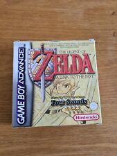 Nintendo Gameboy Advance, GBA, Zelda A Link To The Past Four Swords PAL,CIB,VGC
