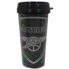 Arsenal FC Travel Mug React Design Black Plastic Coffee Officialy Licensed Gift