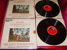 ELGAR - SYMPHONY No.2 - J.BARBIROLLI - 2xLP N.MINT/N.MINT/ASD 610 - 611/1964 UK