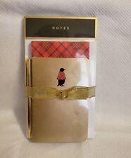 HALLMARK Memo Pad Set, NWT, PENGUIN (2  MemoPads, 1 Notepad & Ink Pen), Gift/Bow