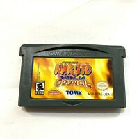 Naruto: Ninja Council - Game Boy Advance GBA Game - Tested, Working, Authentic!
