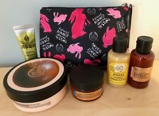 The Body Shop Against Animal Testing Make-up Cosmetic Bag, Body Butter, Scrub...