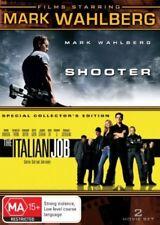 Mark Wahlberg - Shooter / Italian Job (DVD, 2009, 2-Disc Set)