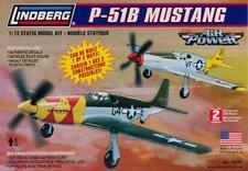 P-51B Mustang USAF AIR POWER 1/72 LINDBERG