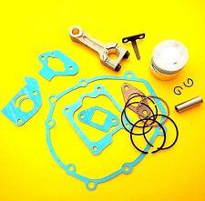Engine Overhaul Kit, Piston, Rings, Gasket Set & Conrod Fits Honda GXH50 Engine