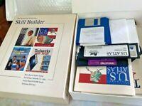 "The Software Toolworks skill builder IBM 3.5"" & 5 1/4 Floppy Disk Vintage Rare"
