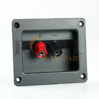 Square Speaker Binding Post Terminal  8g Wire Audio 2-7/8 x 2 1/8 inches
