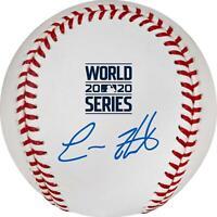Enrique Hernandez Los Angeles Dodgers Signed 2020 World Series Logo Baseball