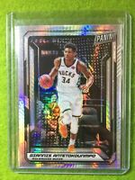 GIANNIS ANTETOKOUNMPO PRIZM CARD JERSEY #34 BUCKS SP /99 REFRACTOR 2019 National
