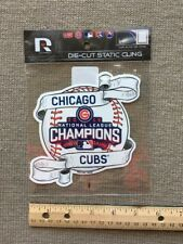 Chicago Cubs Static Cling - Die-Cut  - 2016 National League Champs Still in Wrap