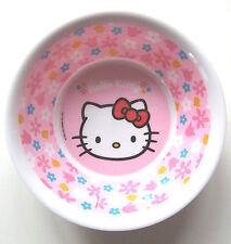 Schälchen Hello Kitty Sanrio p:os NEU m.E rosa Blumen Schale Müsli kinder baby