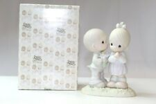 """Precious Moments 521841 1990 """"Love Is From Above"""" Mint In Orig Box #291"""