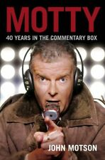 Motty,John Motson,New Book mon0000009834