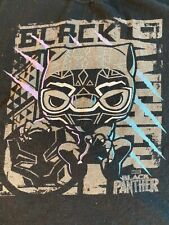 Funko Pop! Tees Marvel Comics Black Panther Men's t-shirt Size L 100% cotton