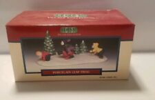 Lemax Village Collection - Porcelain Leap Frog - 1996