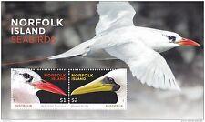 NORFOLK ISLAND-AUSTRALIA 2016 SEABIRDS SHEET Sc#1132 MNH