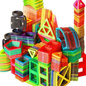 100Pcs Magnetic Building Blocks Multicolour Construction Building Toys Puzzle UK