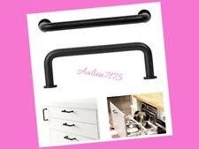 IKEA ULVSBO Black Handles 2 Pack Cabinet Door Drawer Hardware 102.223.50 NEW