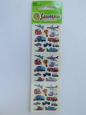 SandyLion STICKERS ~ Planes, Ships, Trucks, Ships, Helicoptor, Train, Police +