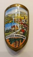 Titisee, Germany Stocknagel, Hiking Medallion, Badge, Shield, Pin, New, GP3-10