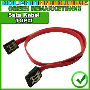✅ SATA Kabel 45cm Lasche & abgewinkelt möglich - Serial-ATA Kabel flach (s002)