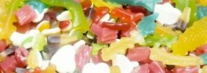Gummy & Jelly fruit mix sweets fruity assorted  party favour hard chewy HALAL