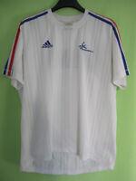 Maillot Adidas Equipe de France Handball FFH Tee shirt vintage jersey - 180 / L