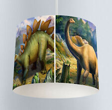 Dinosaur (414) Bedroom Drum Lampshade Light Shade for ceiling