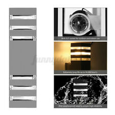 New ListingE27 Modern Led Up Down Wall Light Sconce Dual Head Lamp Fixtures Outdoor Garden