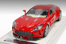 Brand New In Box 1/18 Aston Martin ONE-77 ONE77 (Red) Resin Model (IN US)
