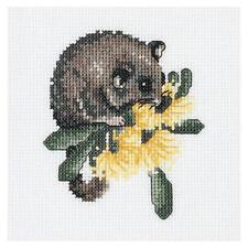 DMC Counted Cross stitch kit - Baby Possum 15 x15cm