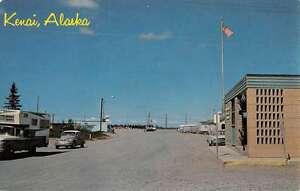 Kenai Alaska Street Scene Historic Bldgs Vintage Postcard K52825