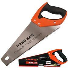 "Neilsen 9 TPI Sharpoint Hardpoint Wood Carpentry Universal Cut Hand Saw 12"""
